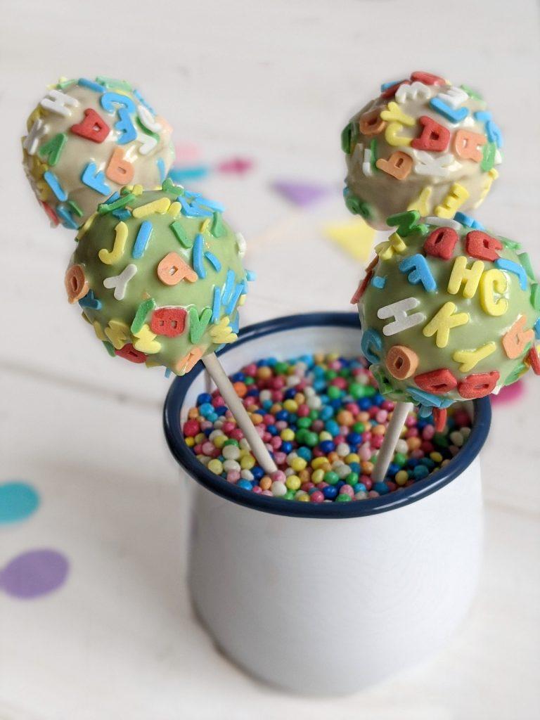 Cake Pops Rezept Einschulung