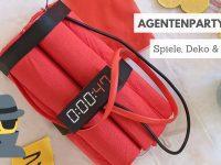 Agentenparty: Spiele, Deko und mehr