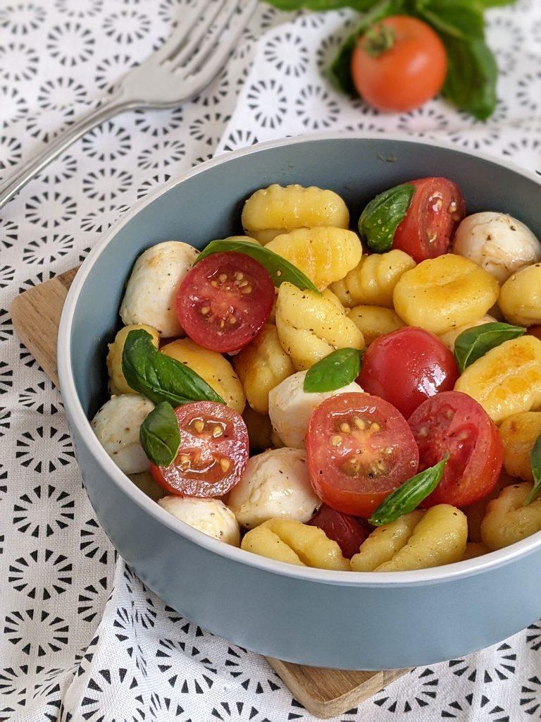 Gnocchi-Caprese-Salat Rezept