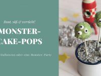 Monster-Cake-Pops: Bunt, süß & verrückt!