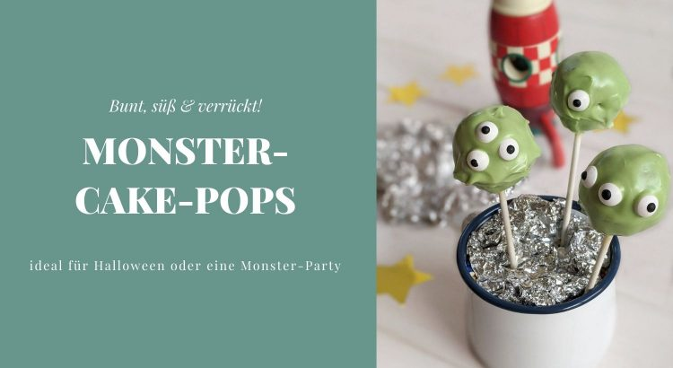 Monster Cake Pops Halloween