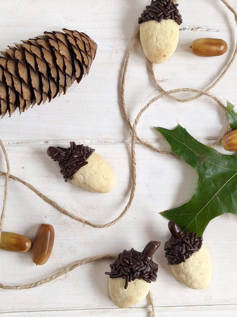 Herbst Kekse Rezept Eichelkekse
