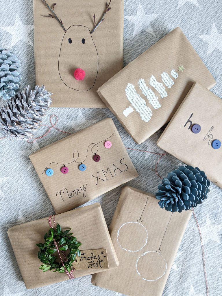 Ideen Weihnachtsgeschenke verpacken