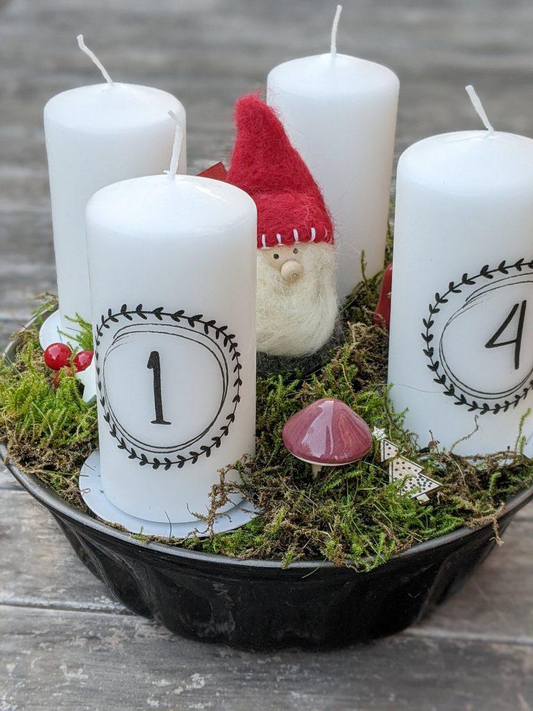 Kerzen bedrucken Ideen