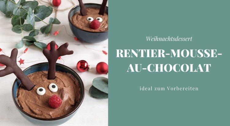 Rezept Rentier-Mousse-au-Chocolat