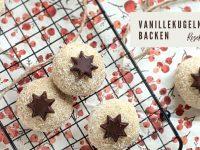 Kekse backen: Schnelles Rezept für Vanillekugeln