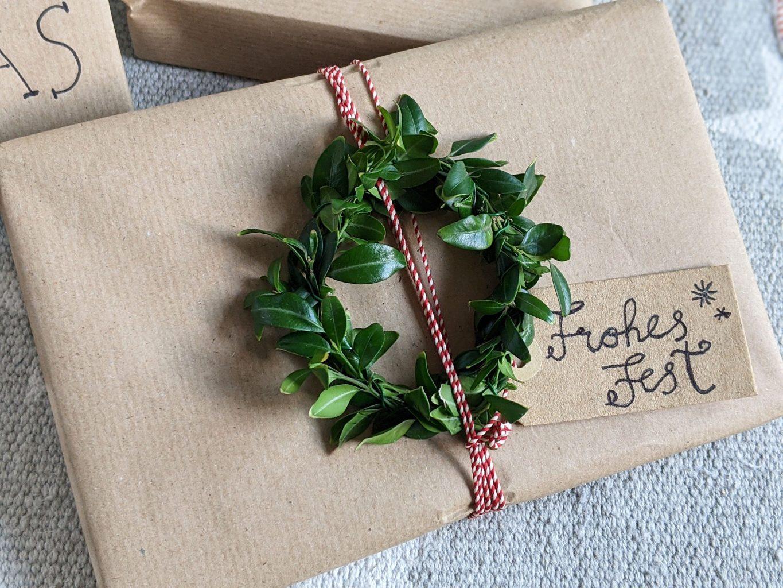 Weihnachtsgeschenke verpacken Ideen