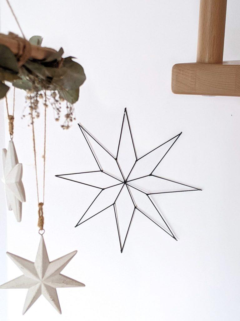 skandinavische Weihnachtsdeko Stern