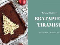 Weihnachtsdessert: Bratapfel-Tiramisu