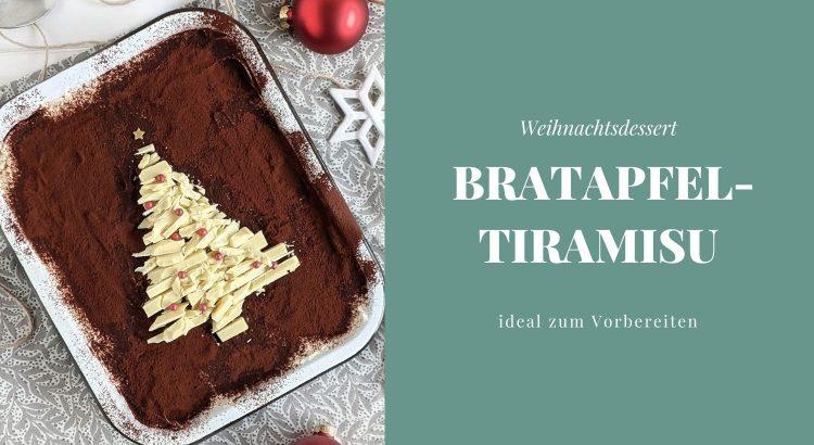 Bratapfel Tiramisu Rezept