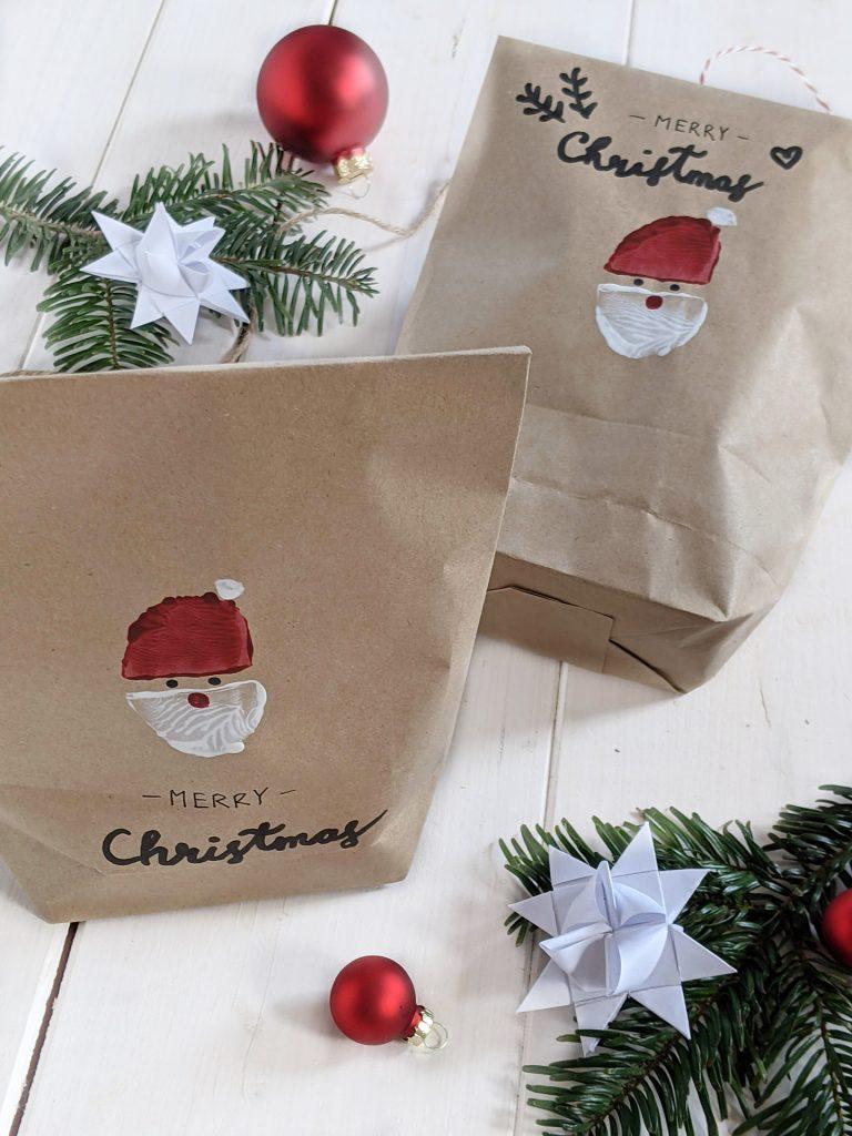 DIY Geschenktüten Weihnachten