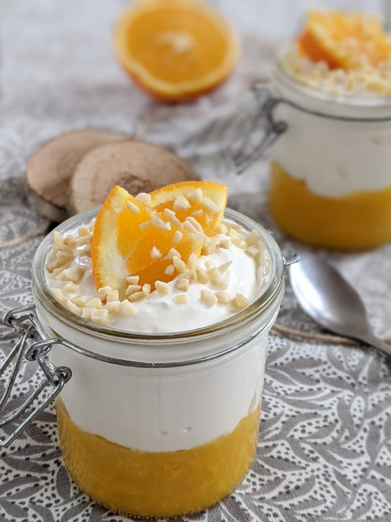 Orangen-Dessert Rezept