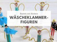 DIY: Wäscheklammer-Figuren basteln