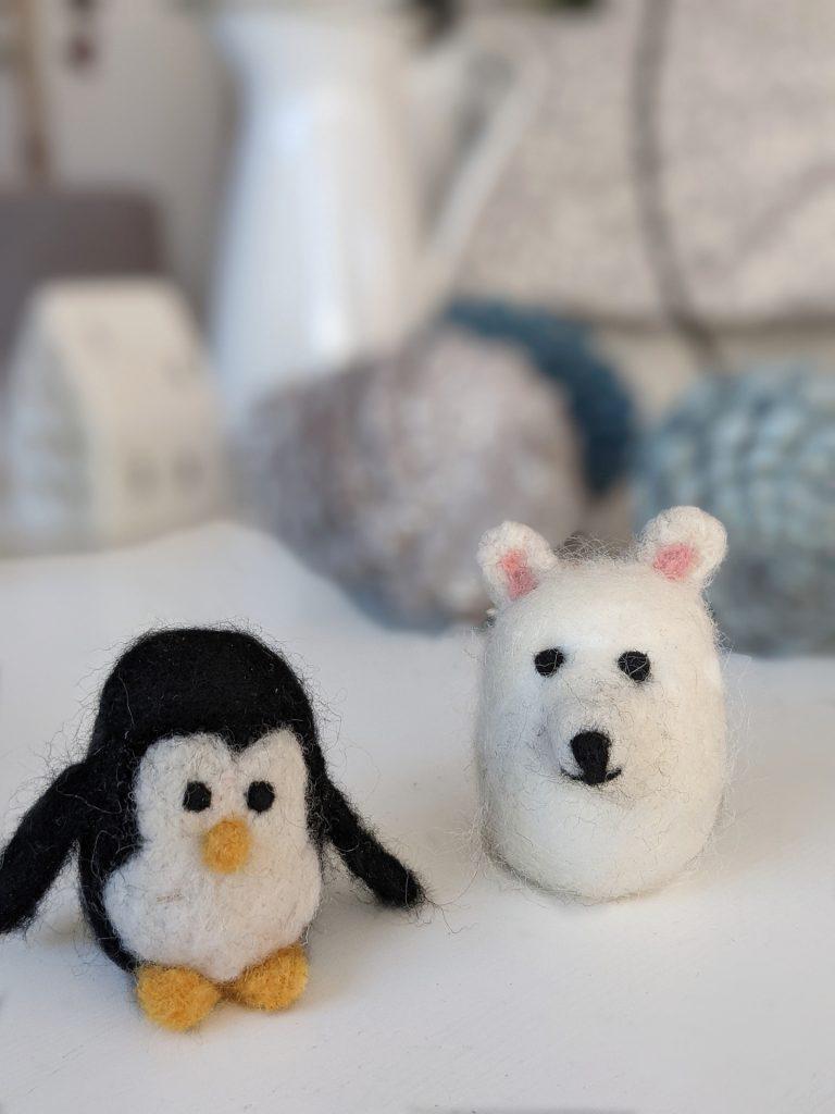 DIY Pinguin filzen