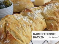 Kartoffelbrot: Rezept mit gekochten Kartoffeln