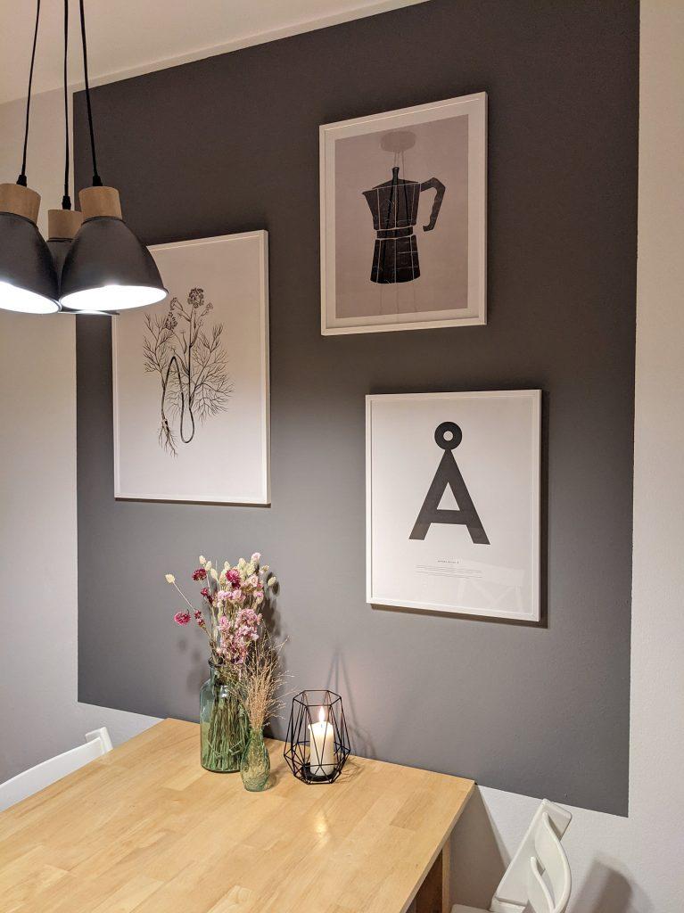 Küchen Bilderwand