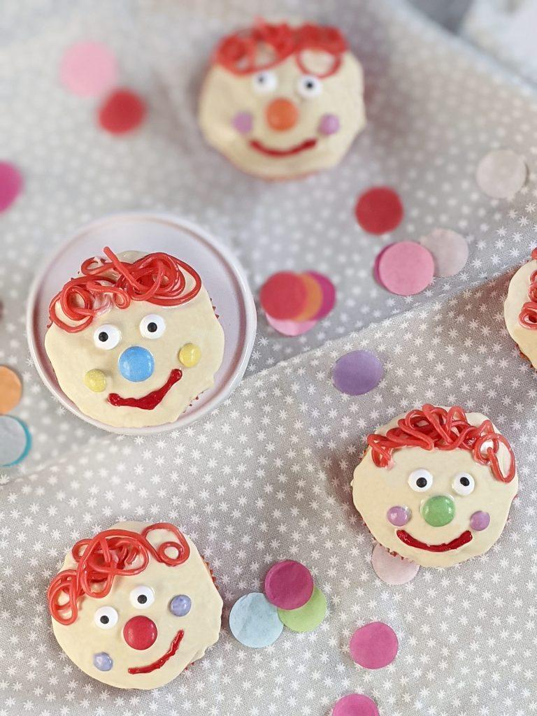 Muffins Clown backen