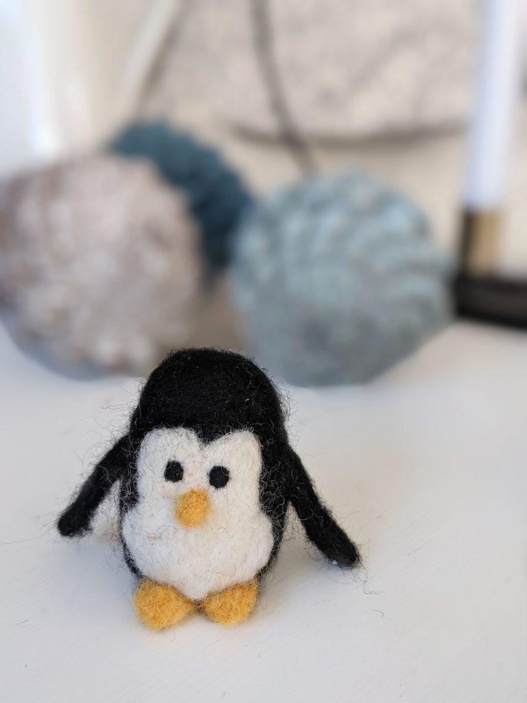 Pinguin filzen Anleitung