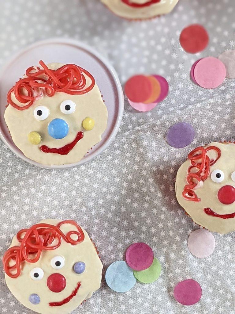 Rezept Fasching Clown-Muffins