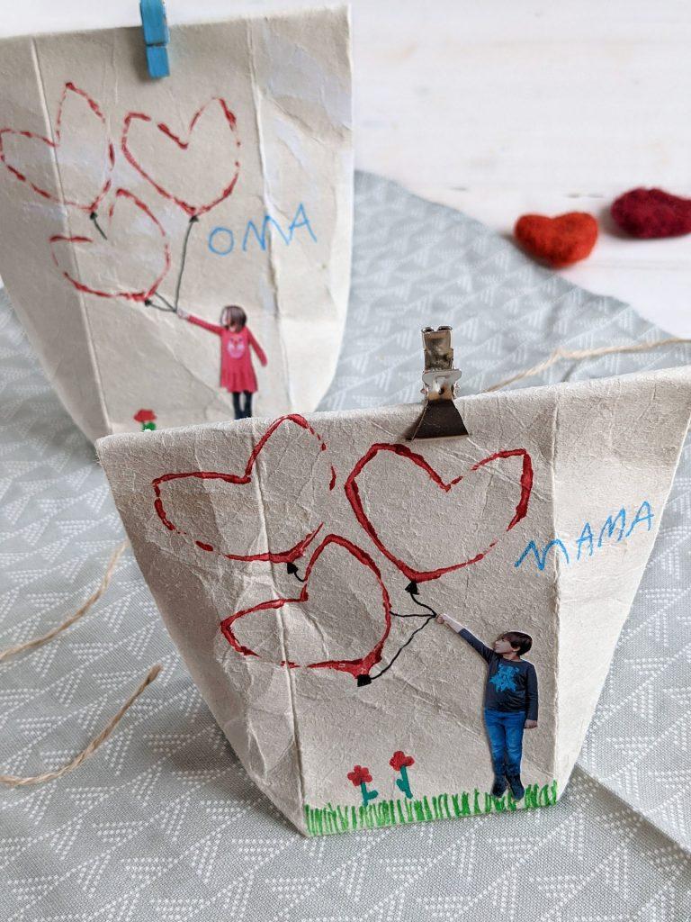 Tetrapack-Geschenktüte basteln