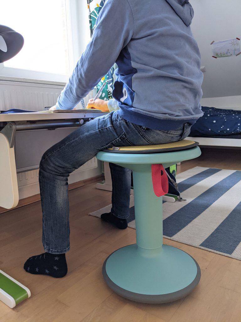UP Sitzhocker Test