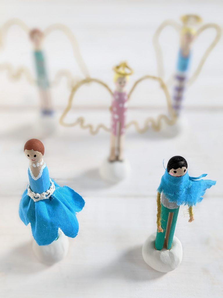 Wäscheklammer-Figuren DIY