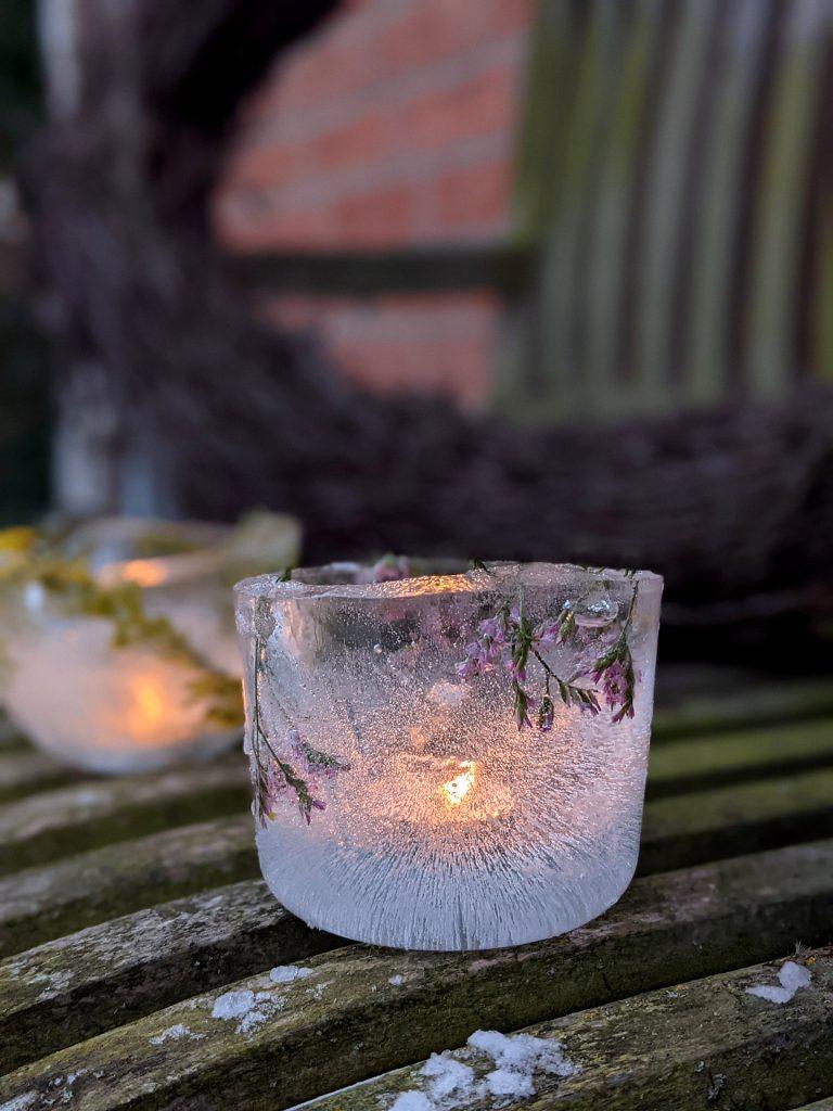 Eislichter selber machen