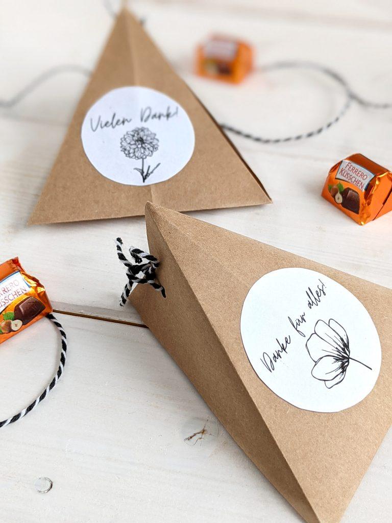 Geschenkbox basteln DIY