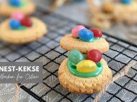 Rezept: Osternester-Kekse als Osterkekse backen
