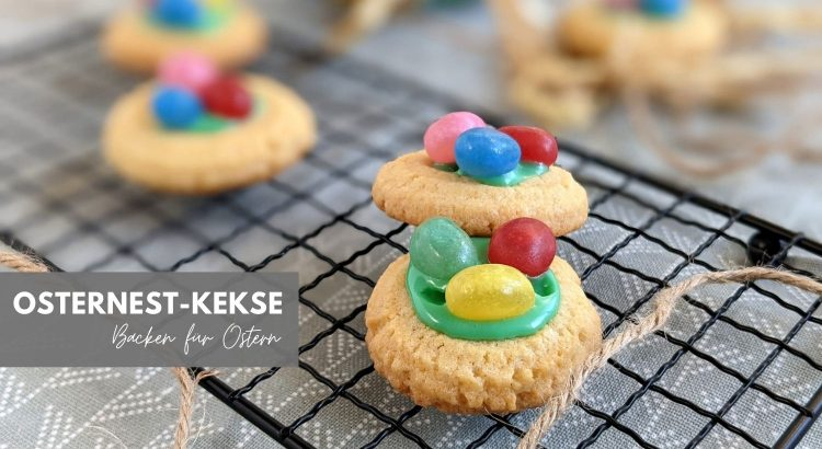 Rezept Osternest Kekse