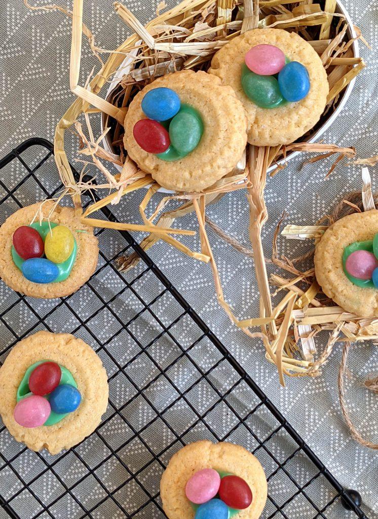 Rezept Osternester-Kekse