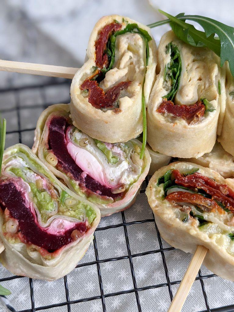 Wraps-Röllchen Fingerfood Rezept