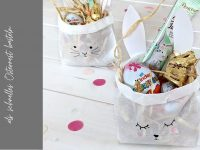 Brottüten-Hasen: Schnelles Osternest basteln