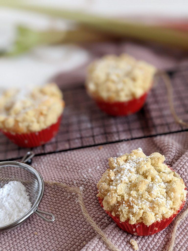 Rhabarber-Muffins Rezept
