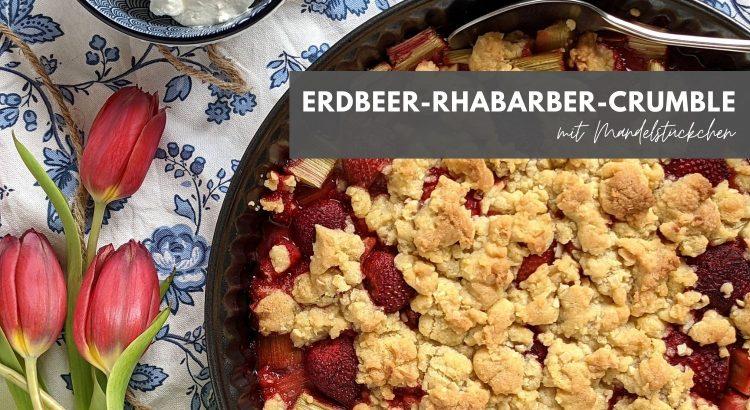 Rhabarbercrumble Rezept