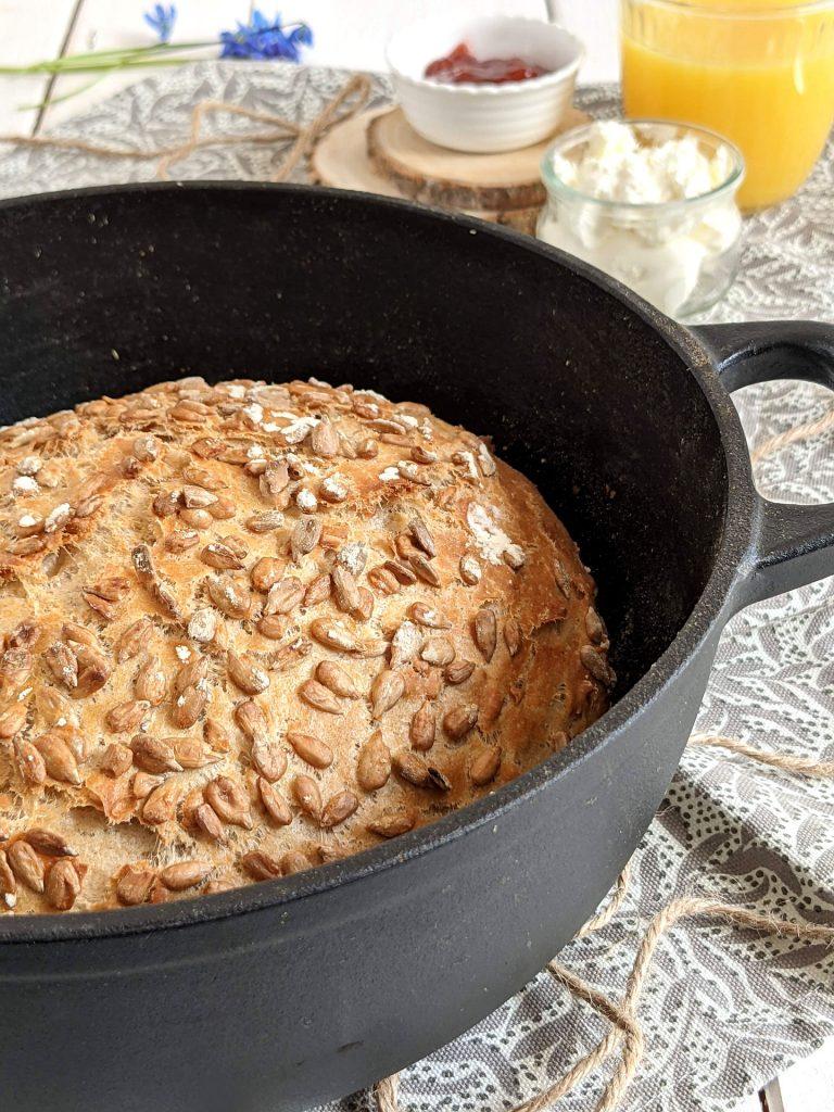 Sonnenblumenkerne Brot Rezept