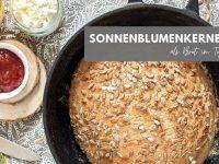 Sonnenblumenkernbrot: Rezept für ein schnelles Topfbrot