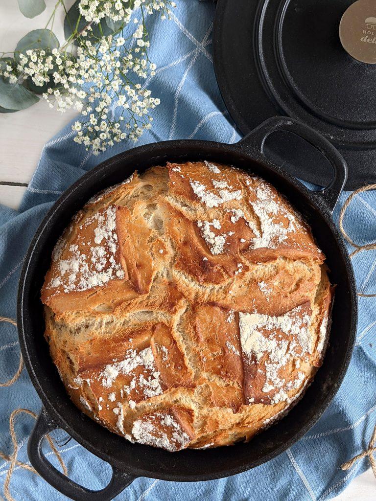 Topfbrot backen Joghurt Brot