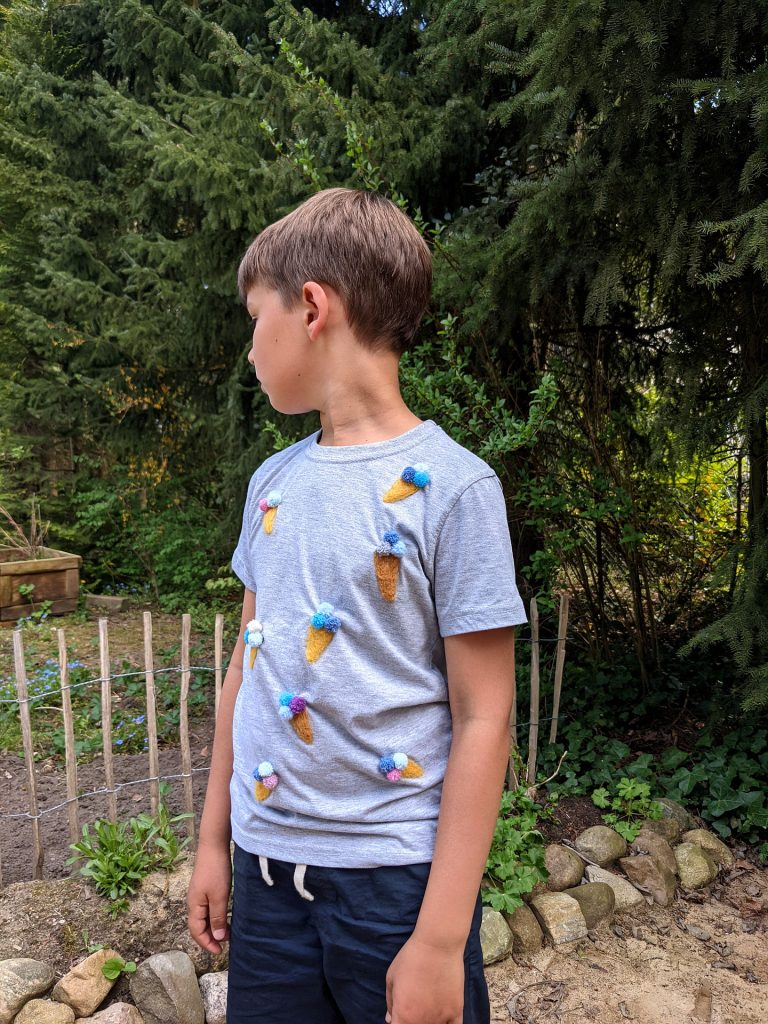 Eis-Shirt filzen DIY