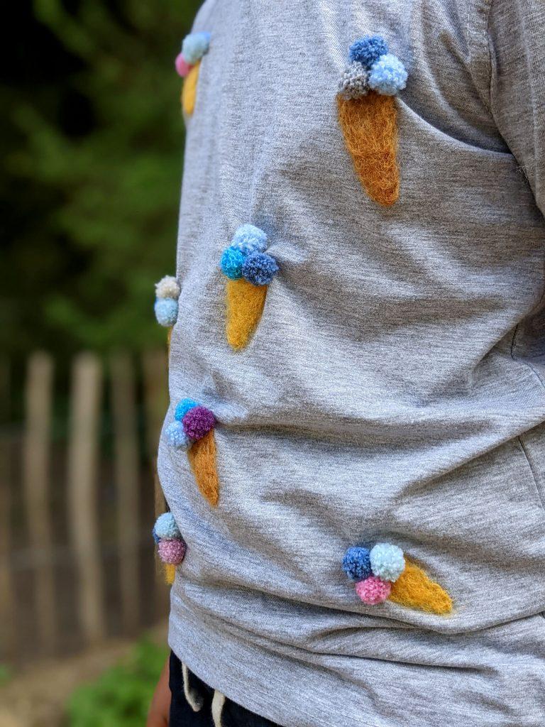 Trockenfilzen Kleidung