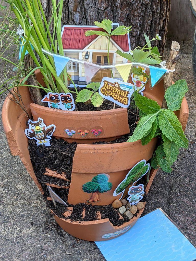 Blumentopf Upcycling Ideen