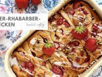 Erdbeer-Rhabarber-Schnecken: Rezept mit Suchtpotenzial