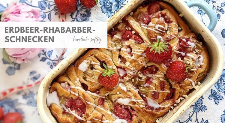 Erdbeer Schnecken Rezept