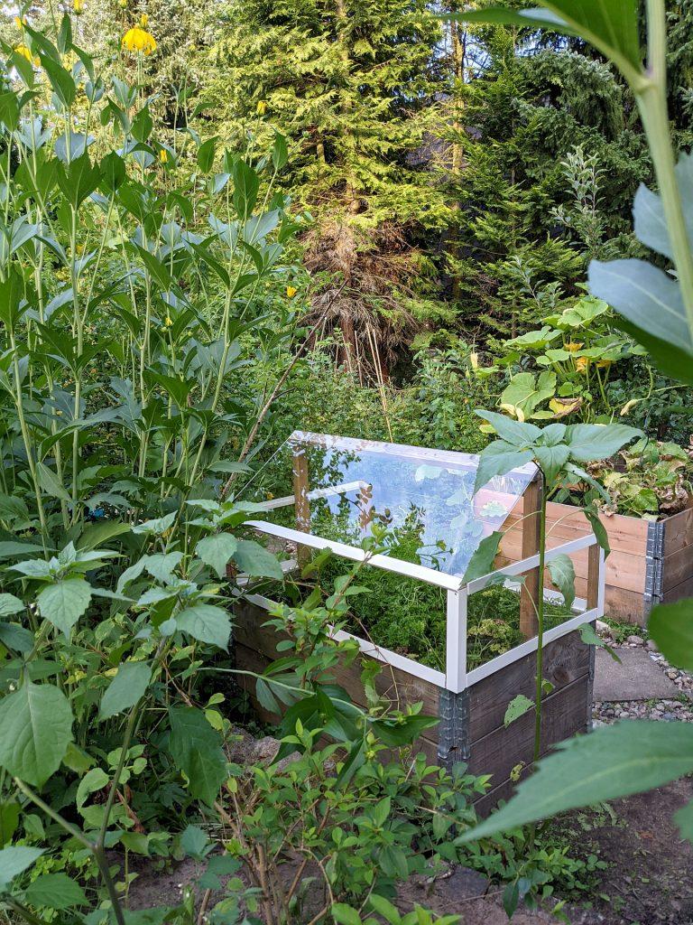 DIY Hochbeet-Aufsatz bauen