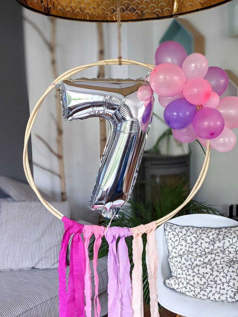 Luftballon-Reifen basteln