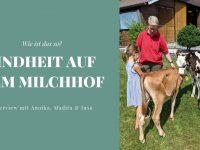 Kindheit auf dem Milchhof - Interview mit Familie Lüschen-Strudthoff