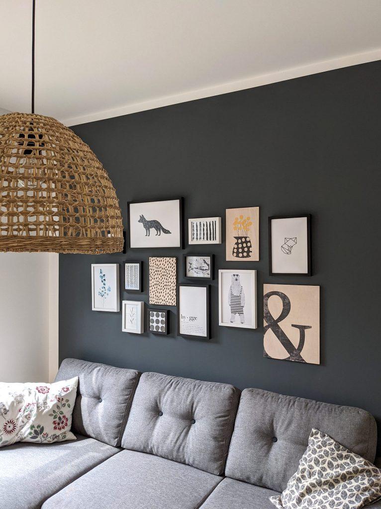 Wandgestaltung Wohnzimmer Ideen