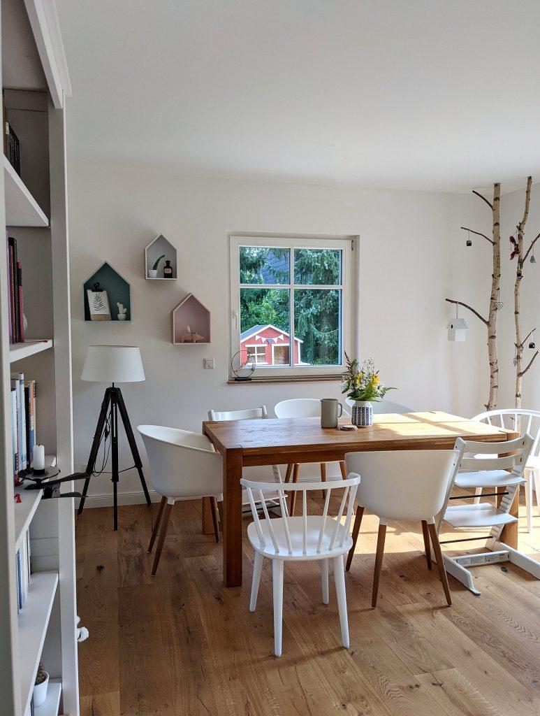 Wohnzimmer Essplatz einrichten