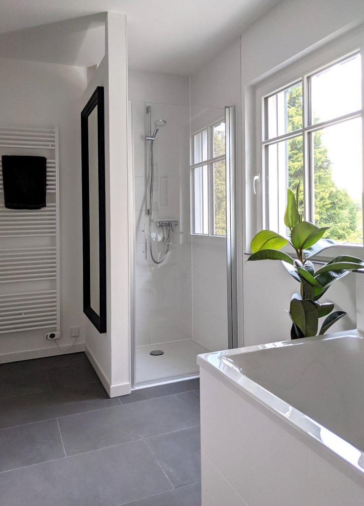 Badezimmer gestalten modern