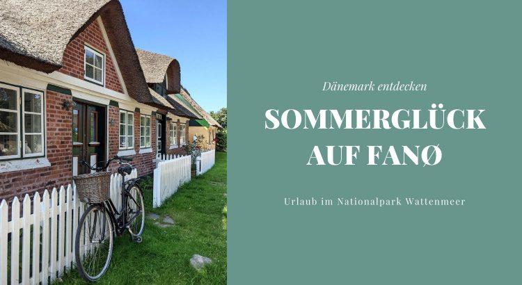 Fanø Sommerurlaub Ideen